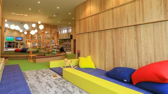 鳥取県南部町の図書館「キナルなんぶ」