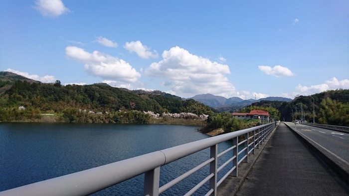 鳥取県南部町 南さいはく地域振興協議会の緑水湖